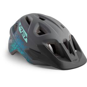 MET Eldar Helm Kinder gray texture